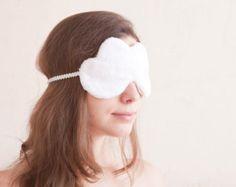 White Cloud Sleep Mask