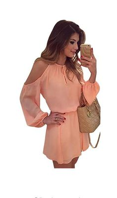 ae10ac19d6c76 Off Shoulder Casual Beach Dress Women Long Sleeve Loose Summer Dress 2017  Elastic Waist Backless Mini Party Dresses Solid Sexy