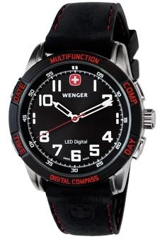 Wenger LED Nomad Compass sort/rød - 70430