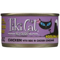Petropics Tiki Cat Koolina Luau Chicken with Egg In Chicken Consomme Reviews