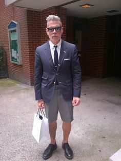 Nick Wooster. Mens fashion icon.