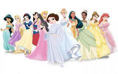 A nova princesa Disney