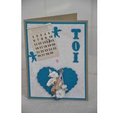 Réalisez une carte avec un coeur en relief pour la St Valentin : Isabelle H