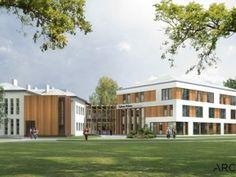 Nursing Home near Warsaw, Poland. Design by Archimed