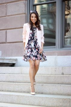 Style Wire | Boston Adventure, Fashion, & Lifestyle : What I Wore: Feminine Floral from Boutikey