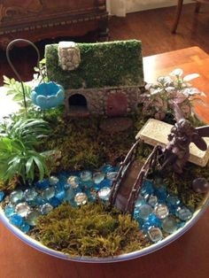 Stunning Fairy Garden Miniatures Project Ideas 32