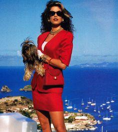 JH Collectibles, American Vogue, April 1992. Photograph by Patrick Demarchelier.
