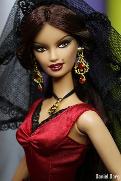 Dolls of the world Spain | Flickr - Photo Sharing!/ I have this doll at home!! I remember that I begged my mom for it, haha