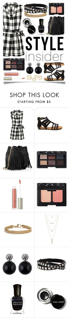 """""""Contest JUST for Style Insiders!"""" by ittie-kittie on Polyvore featuring Whit, Whistles, NARS Cosmetics, Ilia, Blue Nile, Charlotte Russe, Leatherock, Deborah Lippmann, Bobbi Brown Cosmetics and contestentry"""