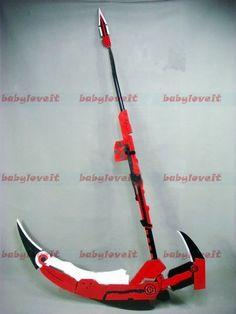 RWBY - Ruby's Scythe. can anyone teach me how to use this?! :-)