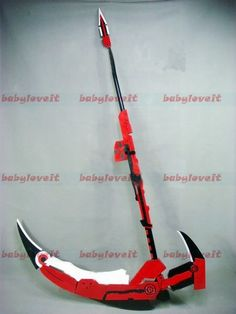 RWBY - Ruby's Scythe. It's the most beautiful thing I have ever seen in my life.