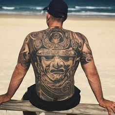 125 Best Back Tattoos For Men: Cool Ideas + Designs (2021 Guide) Small Back Tattoos, Cool Back Tattoos, Back Tattoos For Guys, Back Tattoo Women, Lower Back Tattoos, Back Piece Tattoo Men, Small Tattoo, Samurai Back Tattoo, Collages D'images