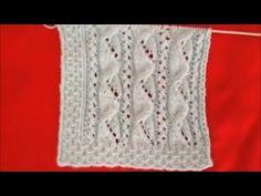 Kolay Bahar Dalları Yelek Örneği - YouTube Baby Knitting Patterns, Knitting Stitches, Hat Patterns, Spring Branch, Moda Emo, Knitting Videos, Midi Skirts, Lana, Bridal Lingerie