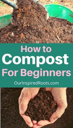 How To Start Composting, Composting Methods, How To Make Compost, Composting At Home, Compost Soil, Garden Compost, Veg Garden, Garden Soil, Leaf Compost