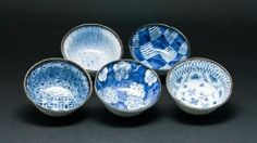 Concept Japan Somekoubou 5pc Small Bowl Set