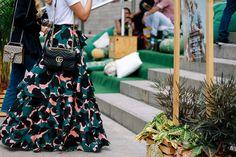 Bolsas Gucci-Street style Colombiamoda 2017