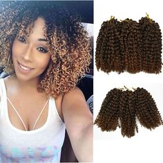 Bright Luxury For Braiding Faux Locs Curly Crochet Hair For Kids 24strands Ombre Blond Crochet Braids 18inch Synthetic Kanekalon Braids Refreshing And Beneficial To The Eyes Curly Dreadlocs