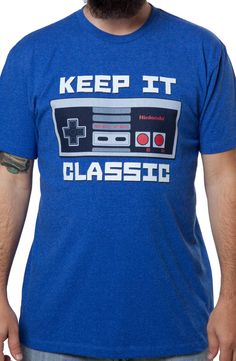 Keep It Classic Nintendo Shirt: Nintendo Mens T-shirt