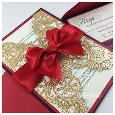 Queens of Heart Sweet Sixteen Invitations. ❤️ #dianarcreations #handmadeinvites…