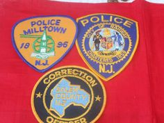 Police Patches, Police Lives Matter, Police Life, Law Enforcement, New Jersey, City, Vintage, Products, Police