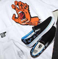 Santa Cruz x Vans Slip-On   Kolaborasi Dua Merk Legendaris Skatebaord  vans    0401323a6e