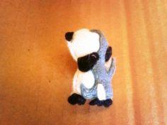 Panda Bear, Shop, Animals, Etsy, Felt Brooch, Animales, Animaux, Panda, Animal
