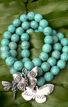 Turqoise Intention Bracelets