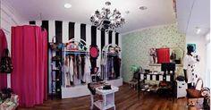 decoracion de tienda de ropa de mujer pequeño - Buscar con Google