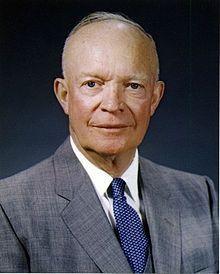 Dwight Eisenhower, President 1954