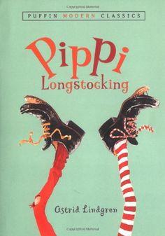 Pippi Longstocking, part of list of chapter books for preschoolers