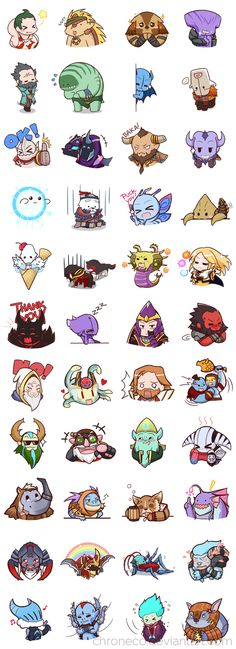 Dota2 Sticker - Compilation by chroneco on DeviantArt