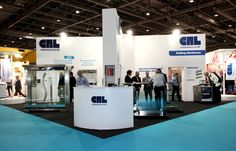 Exhibition stand for CRL at Ecobuild