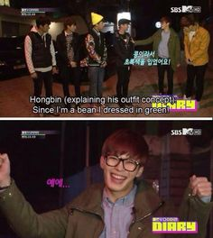 Hongbin s logic and that face