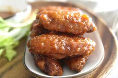 Sweet & Sticky Hot Wings...yum