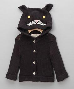 Black Cat Sweater - Infant & Toddler