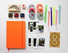 Such a cute idea doing this for vacations! | Urban Outfitters - Blog - UO DIY: Scrapbooking