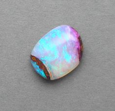 Australian crystal opal 16 x 12.5 x 7mm  8.55ct