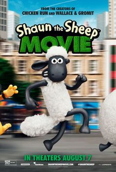 """SHAUN THE SHEEP - """"Shaun the Sheep"""" is an energetic and charming romp through the claymation countryside. It's a movie that people of all ages should be able to appreciate. And sure, it's a bit out-of-the-box compared to so many other movies out there, but that's actually part of the reason why people should give it a chance."""