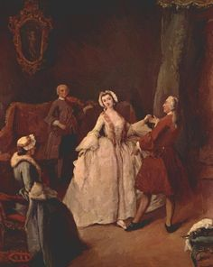 The Dancing Lesson (c. Pietro Longhi (Venetian, Rococo, Oil on canvas. Longhi was extremely popular, painting bright scenes with a light social. History Of Dance, Most Beautiful Paintings, High Society, Art Database, Holy Family, Italian Art, Reproduction, Vintage Artwork, Great Artists