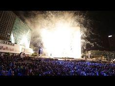 La Défense : retour sur le spectacle Espace (2013) - YouTube