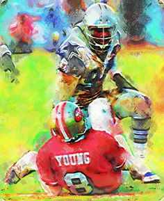 Charles Haley Pastels Painting - Virtual Painter 6.