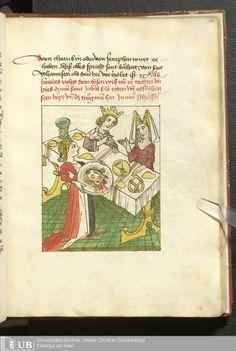 365 [180r] - Ms. germ. qu. 99 - Vita Jesu Christi in deutscher Bearbeitung - Page - Mittelalterliche Handschriften - Digitale Sammlungen Schwaben, [1472-76]