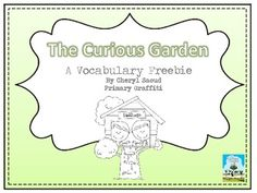 This 9 page freebie compliments my unit for The Curious Garden.  Pictured is the full unit for $4.00.Click HereIncluded: Cover, Defin...