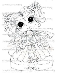 Faça o Download Digital Digi selos Big Eye Big Head Dolls Digi Nascimento Pedra Besties Miss April IMG719 por Sherri Baldy