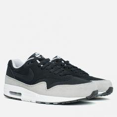 Nike Air Max 1 Essential Black Black Flint Silver 537383 021