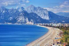 #Antalya #Türkei #Konyaalti #Strand #Urlaub #Kreuzfahrt #Reise