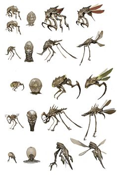 somespiffy buggy designs. the long slender legs help.and the meat hookson the upper right are nice