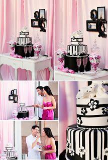 Esküvőre fekete torta? IGEN!