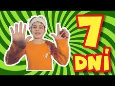 Dni v týždni (pesničky pre deti - základná škola hrou) - YouTube Preschool, Classroom, Youtube, Education, Music, Class Room, Musica, Musik, Kid Garden