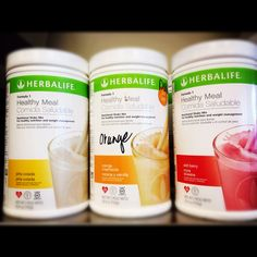 Healthy Meals. What's your flavor? #herbalife #nutrition #fitness
